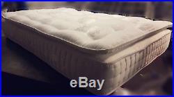 1000 pocket sprung memory foam mattress & pillow top 3ft 4ft6 5ft