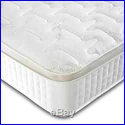 10 Pillow top memory bonnell spring gold mattress / memory foam UK Manufactured