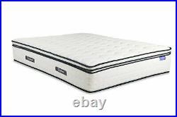 10 Year Warranty Space 2000 Pocket Sprung Pillow Top Memory Foam Mattress Sl