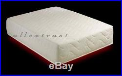 10 inch DOUBLE 4ft6 BED SIZE MEMORY FOAM MATTRESS +2 FREE PILLOWS + FREE COVER