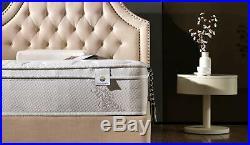 12 Deluxe Full Plush Euro Pillow Top Cool Memory Foam & Pocket Spring Mattress