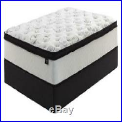 12-Inch Hybrid Mattress Extra Plush Comfort Pillow Top Chime Bedroom Memory Foam