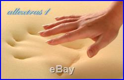 12 inch SINGLE 3ft BED SIZE MEMORY FOAM MATTRESS + FREE COVER + FREE PILLOW
