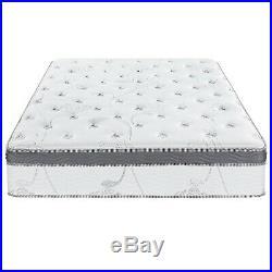 13 Queen Size Hybrid Gel Infused Memory Foam Mattress Pocket Coil Pillow Top