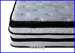 13 inch Hybrid Innerspring Memory Foam Mattress with Pillow Top, Twin