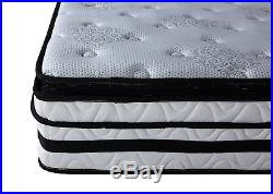 13 inch Hybrid Innerspring and Memory Foam Mattress with Pillow Top Full