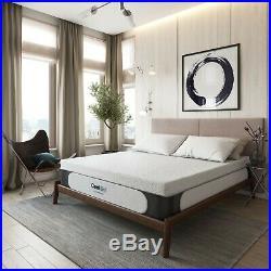 14 Inch Memory Foam Mattress Firm Ultra Plush Support Cool Gel 2 Pillows King