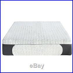 14 Inch Memory Foam Mattress Firm Ultra Plush Support Cool Gel 2 Pillows Queen