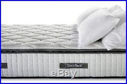 150cm Sleepsoul Bliss 800 Pocket Memory Pillow Top 5ft Kingsize Mattress