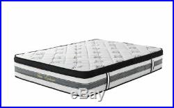 15 inch Hybrid Innerspring and Memory Foam Mattress with Pillow Top Queen