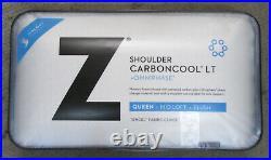 (1) Malouf Shoulder CarbonCool LT +Omniphase Queen Mid Loft Plush Pillow XX