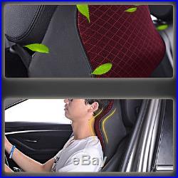1pcs Auto Car Seat Headrest Pad Memory Foam Pillow Head Neck Support Cushion