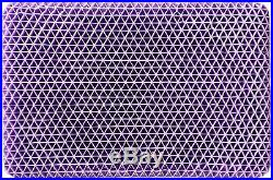 (2) NEW Purple Pillows with Smart Comfort Grid Hyper Elastic Polymer