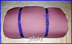 2 x Duvalay 4.5 & 10.5 Tog Sleeping Bag Memory Foam Mattress & Pillows Campervan