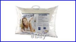 2 x Genuine Concept Memory Foam High Quality Traditional Shape Pillows