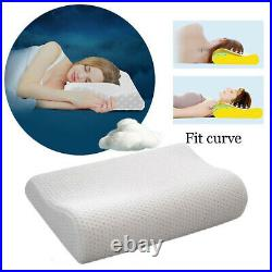 2x CONTOUR MEMORY FOAM GEL PILLOW ORTHOPEDIC SUPPORT NECK BACK SUPPORT WASHABLE