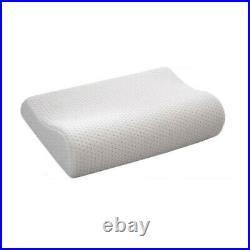 2x Contour Memory Foam Pillows Orthopaedic Firm Head Neck Back Support Pillow Uk