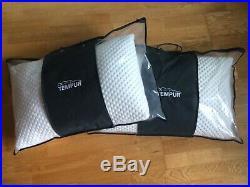 2x Tempur Cloud Support Standard Memory Foam Pillow NEW IN BAG