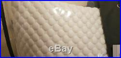 2x Tempur comfort pillow cloud pillow, memory foam, new, medium soft feel, unuse