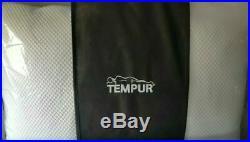 2x tempur comfort pillow original firm feel memory foam, firm feel, x2