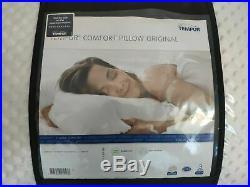 2x tempur comfort pillow original firm feel memory foam, firm feel, x2 pillows
