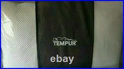 2x tempur comfort pillow original two pillows, firm feel, memory foam