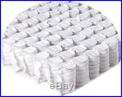 3000 Memory Pocket Sprung Pillow Top Mattress, 3ft 4ft6 Double 5ft King Size