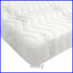 3ft Single Maxi Cool Touch Reflex Memory Foam Mattress 5 Zone + 2 Free Pillows