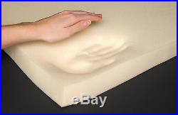 4FT6 Double 135cm Memory Foam Orthopaedic 6 Thick Mattress + FREE PILLOWS