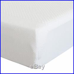 4FT6 UK Double 135cm Memory Foam Mattress 20cm Thick Orthopaedic with Pillows
