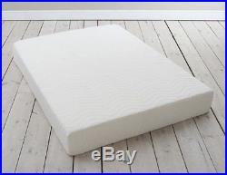 4FT DOUBLE 120cm MEMORY FOAM ORTHOPAEDIC 8 Thick MATTRESS + FREE PILLOWS