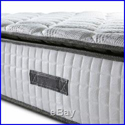 4'6 Eclipse Mattress Pocket Spring and Memory Foam Pillow Top