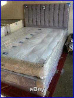 4ft 6 Platinum 3000 mattress. Pillow top and memory foam. Free local delivery
