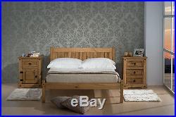 4ft Wooden Oak Bed + Quality Duvet + 2 Pillows + 6 Memory Foam Mattress