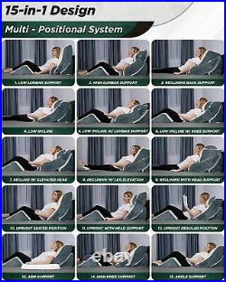 4pcs Orthopedic Bed Wedge Sitting Pillow Set Post Surgery Memory Foam Back Neck