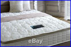 5FT King Tencel Fabric Memory Foam Spring Mattress Luxury Pillow Top Mattress