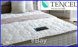 6FT Super King Size Tencel Memory Foam Spring Mattress Pillow Top Mattress SALE