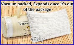 6 Pack Memory Foam Luxurious Bamboo Gel Pillow by Clara Clark Queen