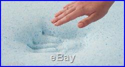 9-ZONE Euro EuroTop Pillow top LATEX Memory Silk Pocket Spring BAMBOO Mattress