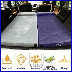 AONESY Camping Mattress Memory Foam Mat With Pillow 192x76x7CM Camping Sleeping