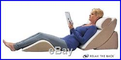 Adjustable Bed Wedge Pillow Set with Memory Foam
