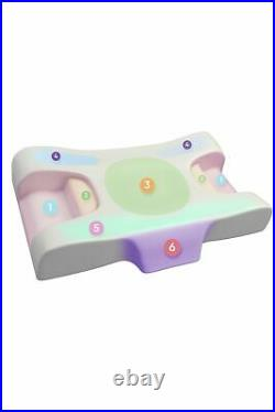 Anti Aging Memory Foam Beauty Pillow Neck Sleeping Massage Skin Care Sleep Well