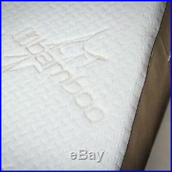Avana Bed Wedge Memory Foam Pillow with Removable Bamboo Cover, Extra Large
