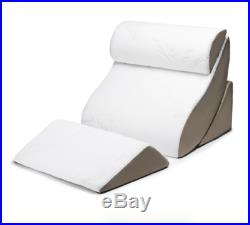 Avana Kind Lumbar Bed Support Pillow for Sitting Up, Memory Foam Posture Wedge