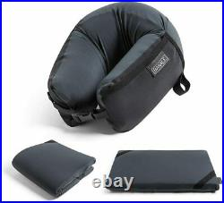 BANALE pillow black OMNI 3in1 foam material portable pillow neck JP