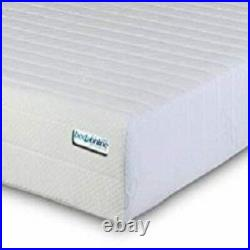 BEDZONLINE Memory Foam 3 Zone Mattress with FREE 1 Fibre Pillows, Micro Quilted