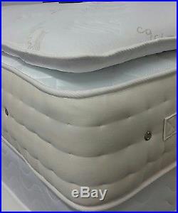 BEST DEAL Pocket Sprung Pillow Top Mattress 5ft King Size RRP £2249 SALE