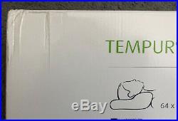 BNIB Tempur Millennium Queen Medium Ergonomic Pillow + spare cover Millenium