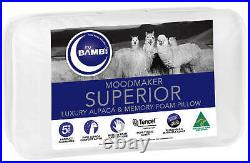 Bambi Moodmaker Superior Alpaca Memory Foam High Profile Pillow