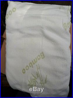 Bamboo Memory Foam Pillows Custom Returns Untested 12 pcs Bulk Sale